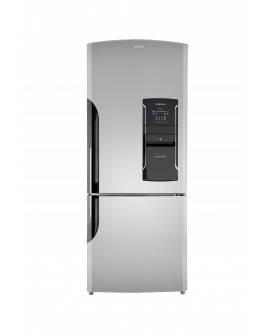 Mabe Refrigerador de 19 pies cúbicos con congelador inferior Acero inoxidable - Envío Gratuito