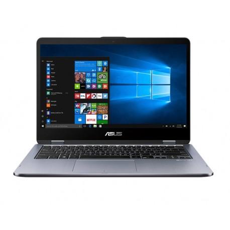 """Asus Laptop TP410UA EC492T de 14"""" Core i7 Memoria de 8 GB Disco duro de 1 TB + 128 GB SSD Gris - Envío Gratuito"""