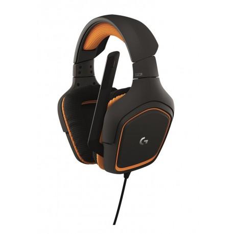 Logitech Audífonos Gaming G231 alámbricos Negro - Envío Gratuito