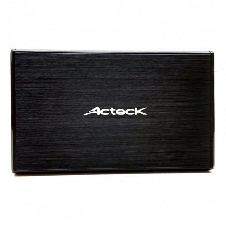 Actek Gabinete para Disco Duro 2.5 USB Negro - Envío Gratuito