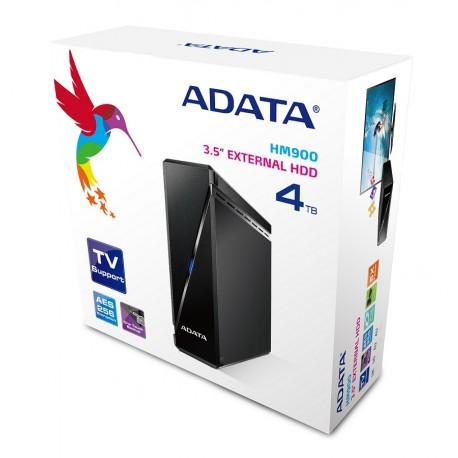 Adata Disco duro escritorio HM900 4TB Negro - Envío Gratuito