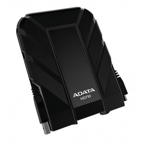 Adata Disco duro de uso rudo AHD710 1TU3 CBK USB 3.0 1 TB Negro - Envío Gratuito