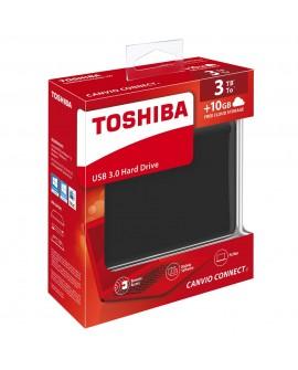 Toshiba Disco Duro Canvio Conect II 3TB Negro
