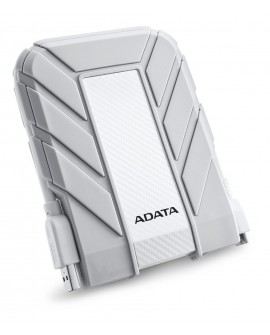 Adata Disco duro de uso rudo para Mac AHD710A 1TU3 CWH USB 3.0 1 TB Blanco