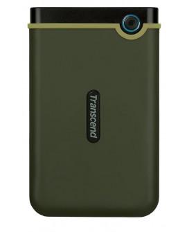 Transcend Disco duro StoreJet 25M3 USB 3.0 1 TB Verde Militar