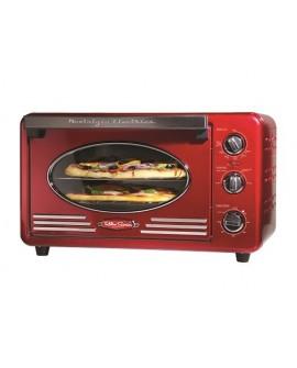 Nostalgia Horno tostador rojo