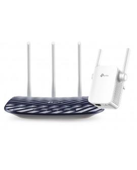 TP-LINK Combo Router Archer C20 + Extensor Wi Fi AC750 Multi