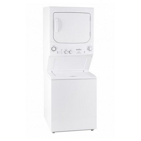 Mabe Centro de lavado a gas carga de 17 kg Blanco - Envío Gratuito