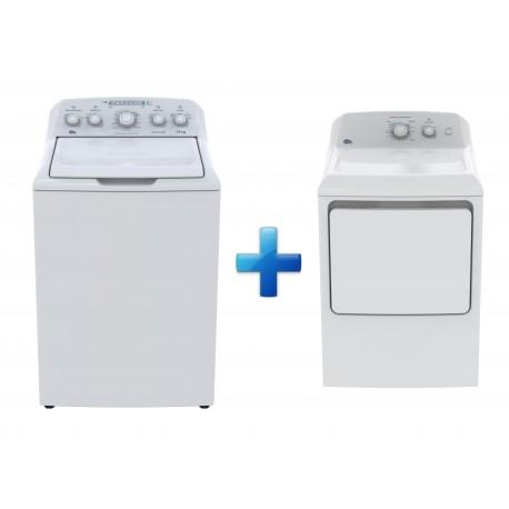 Easy Paquete de lavadora y secadora de 19 kg Blanco - Envío Gratuito