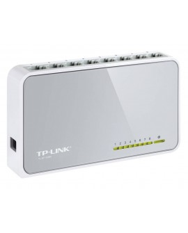 TP-LINK Switch de Escritorio de 8 Puertos de 10/100Mbps Blanco