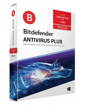 Bitdefender Antivirus Plus 1 Año 1 usuario - Envío Gratuito