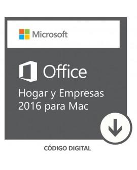 Software Descargable Microsoft Office Mac Home & Business 2016 Blanco - Envío Gratuito