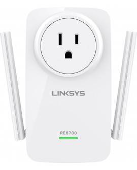 Linksys Expansor de rango AC1200 Dual band LKS RE6700 Blanco