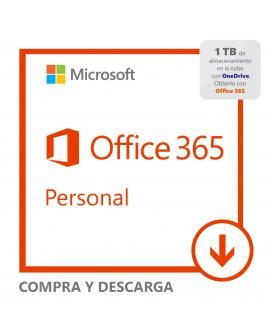 Software Descargable Microsoft Office 365 Personal Blanco
