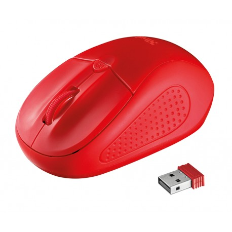 Trust Mouse inalámbrico 20787 Rojo - Envío Gratuito