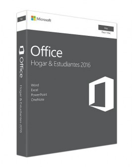 Microsoft Office 2016 Home & Student 1 Usuario Mac