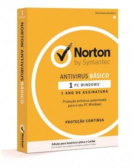 Norton Antivirus básico 1 Año 1 usuario