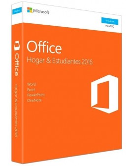 Microsoft Office 2016 Home Y Student 1 Usuario PC