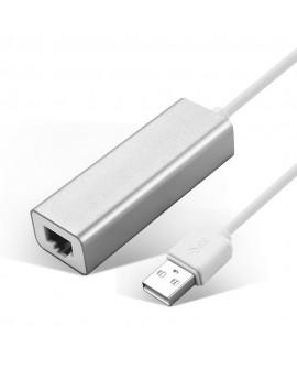 Boba Adaptador Ethernet USB Plata - Envío Gratuito