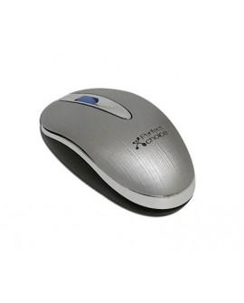 Perfect Choice Mouse con cable retráctil oculto USB Gris