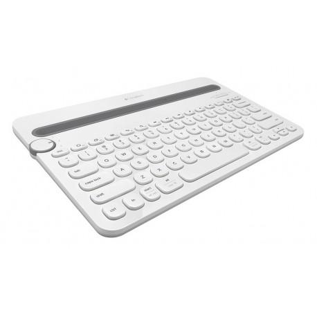 Logitech Teclado Bluetooth K480 Blanco - Envío Gratuito
