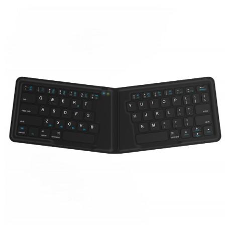 Kanex Teclado Mini Plegable Bluetooth Negro - Envío Gratuito