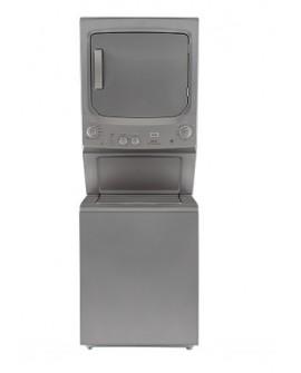 Mabe Centro de lavado a gas con capacidad de carga de 17 kg Grafito
