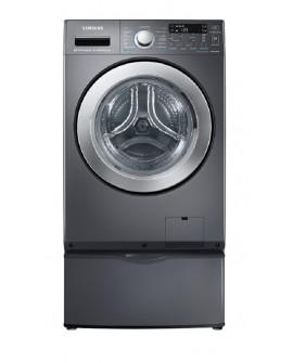 Samsung Lavasecadora con acceso frontal y carga de 15 kg Onyx