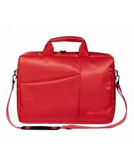 "Color Case Maletín 14"" Nylon Rojo"
