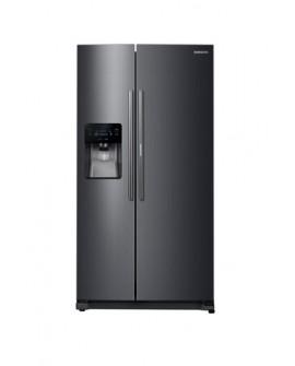Samsung Refrigerador Dúplex de 25 pies cúbicos y 2 puertas Negro