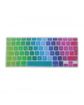 """Huex Protector para Teclado MacBook Air/Pro Retina 13"""" y 15"""" Arcoiris"""