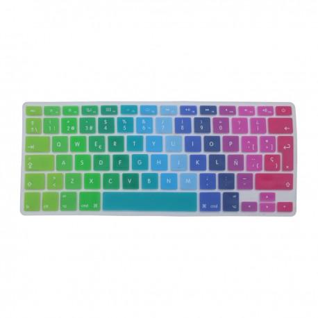 """Huex Protector para Teclado MacBook Air/Pro Retina 13"""" y 15"""" Arcoiris - Envío Gratuito"""