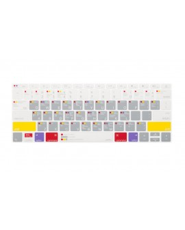 "JCPAL Cubreteclado para MacBook Pro 13"" ShortCuts Gris"