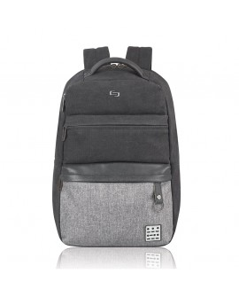"""Solo Backpack Urban Code 15.6"""" Negro/Gris"""