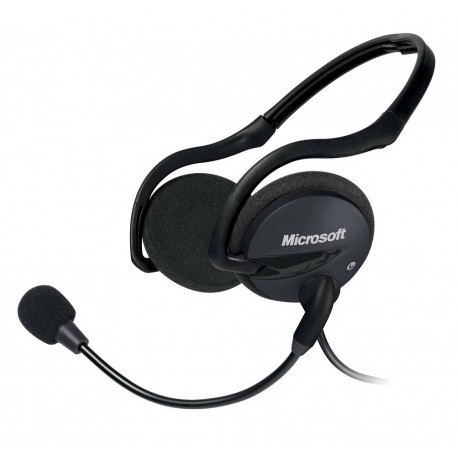 Microsoft Audífonos LifeChat LX-2000 Negro - Envío Gratuito