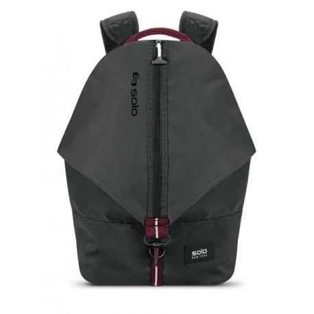 "Solo Backpack Varsity Peak hasta 15.6"" Negro - Envío Gratuito"