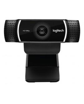 Logitech WebCam C922 Pro Stream Negro