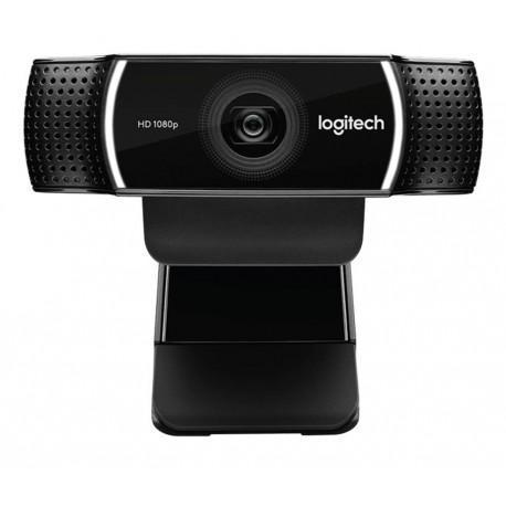 Logitech WebCam C922 Pro Stream Negro - Envío Gratuito