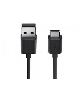 Belkin Cable USB-A 2.0 a USB-C 1.8 m F2CU032BT06 Negro