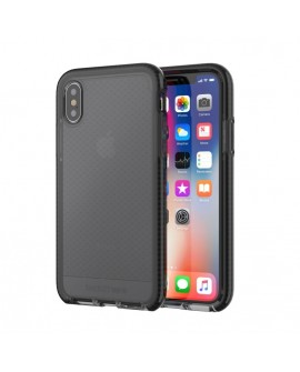 Tech 21 Funda para iPhone X Tech Evo Check Humo - Envío Gratuito