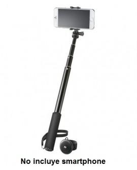Insignia Selfie Stick Bluetooth Negro - Envío Gratuito