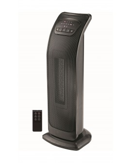 Mabe Calefactor de torre cerámico Negro