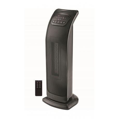 Mabe Calefactor de torre cerámico Negro - Envío Gratuito