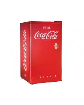 """Nostalgia Frigobar de 3"""" Coca-Cola Rojo"""