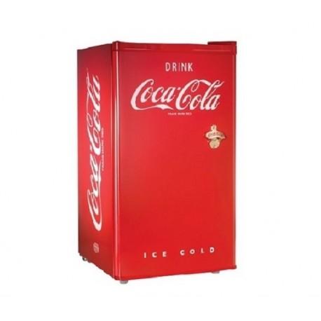 "Nostalgia Frigobar de 3"" Coca-Cola Rojo - Envío Gratuito"