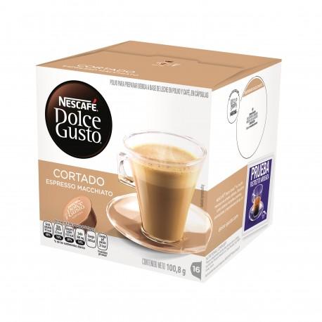 Nestlé Cápsulas Nescafé Dolce Gusto Cortado Espresso Macciato - Envío Gratuito