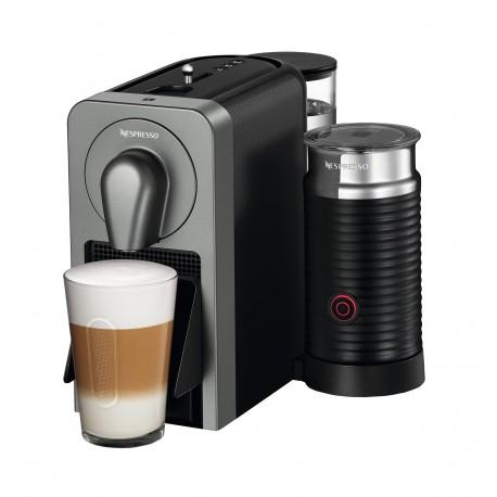 Nespresso Máquina de café Prodigio Titanio - Envío Gratuito