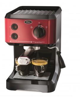 Cafetera Espresso Capuccino Roja