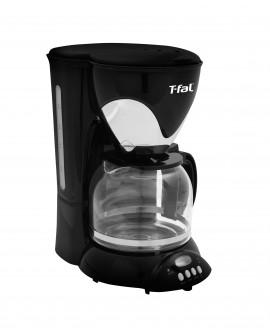 T-Fal Cafetera programable Silver Negro/Plata
