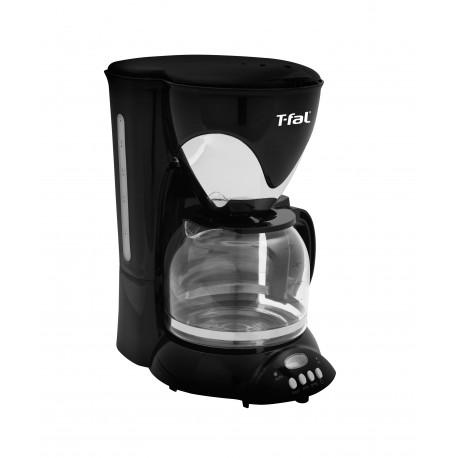 T-Fal Cafetera programable Silver Negro/Plata - Envío Gratuito